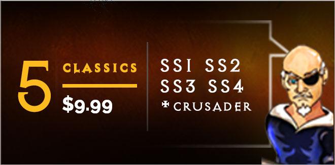 Swords and Sandals Classics Ad