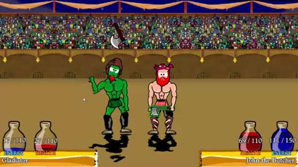 Swords and Sandals Screenshot