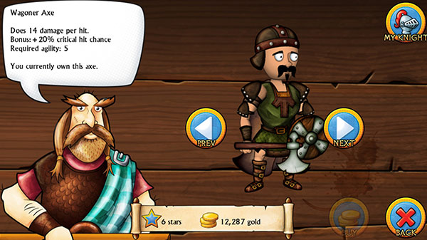 Swords and Sandals Medieval Screenshot