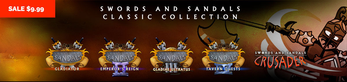 5 Swords and Sandals Classics